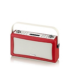 Viewquest - Red Hepburn speaker and DAB/FM radio