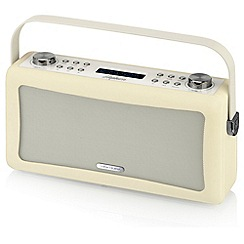 Viewquest - Cream Hepburn speaker and DAB/FM radio