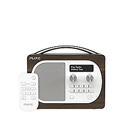 Pure - Evoke VL-62229 light walnut D4 DAB radio