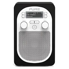 Pure - Evoke VL-62285 black D2 Domino DAB radio with bluetooth
