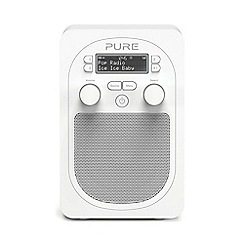 Pure - Evoke VL-62284 white D2 Glacier DAB radio with bluetooth