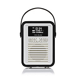 Viewquest - Black Retro VQ-MINI-BK mini DAB radio