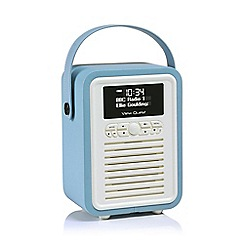 Viewquest - Blue Retro VQ-MINI-BL mini DAB radio