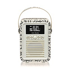 Viewquest - View Quest 'Emma Bridgewater' black retro doc radio