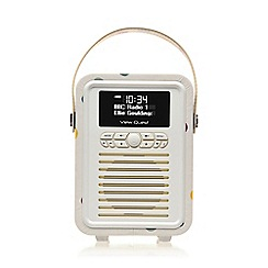 Viewquest - Retro mini dab portable radio emma bridgewater polkadot