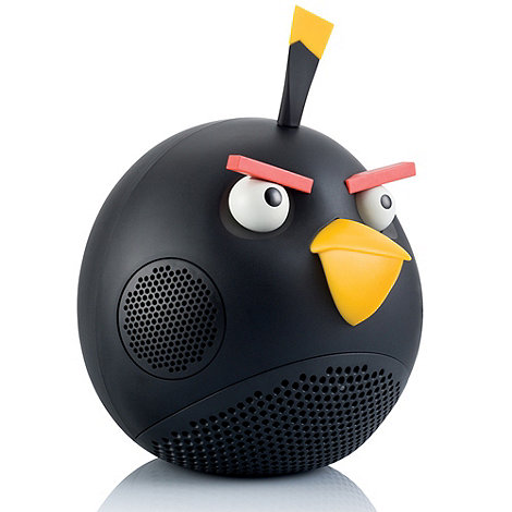 Gear 4 - Black 'Angry Birds' speaker dock