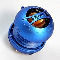 X-Mini - Blue x-mini uno portable capsule speaker