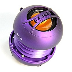 X-Mini - Purple XMINI uno portable capsule speaker