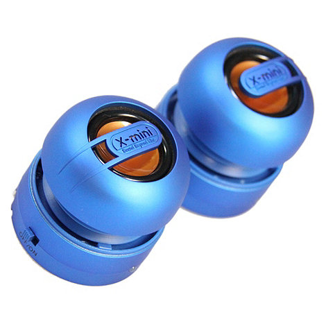 X-Mini - Blue x-mini max duo portable speaker
