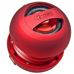 X-Mini - Red x-Mini XMINI2RD portable speaker