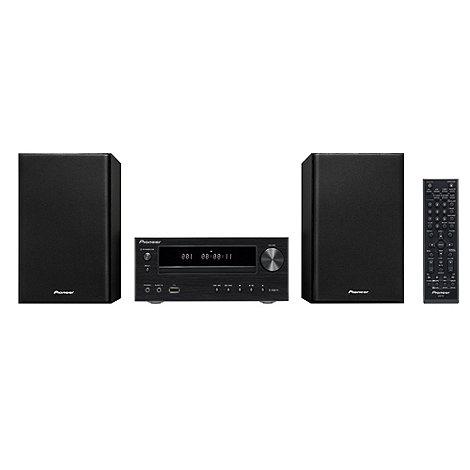 Pioneer - Black X-HM11DAB-K micro hi-fi system