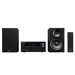 Pioneer - Black CD hi-fi system X-HM21BTD