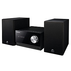 Pioneer - Black X-CM32BT micro CD Hi-Fi system with bluetooth