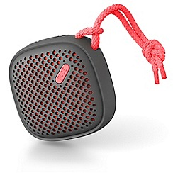 NudeAudio - Move small bluetooth portable speaker coral