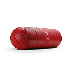 Beats - Pill bluetooth wireless speaker in red
