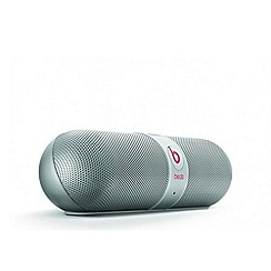 Beats - Pill bluetooth wireless speaker in silver