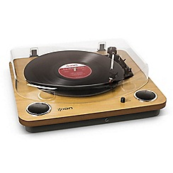 iON - Max LP conversion turntable with stereo speakers