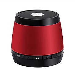 HMDX - Jam thrill red bluetooth speaker HX-P230RDE