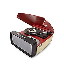 Crosley - Red collegiate portable USB turntable