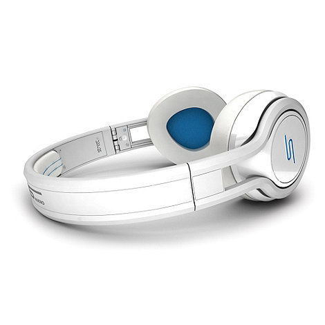SMS Audio - SMS white +Street by 50+ on ear headphones