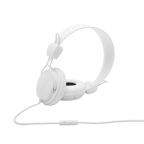 WESC - White +Conga+ on-ear headphones
