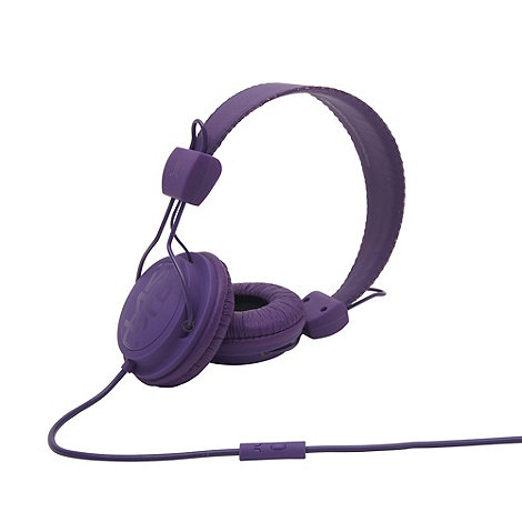 WESC - Purple +Conga+ on-ear headphones