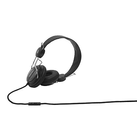 WESC - Black +Oboe Street+ on-ear headphones