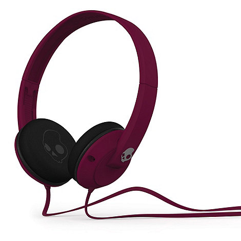 Skullcandy - Uprock 2.0 plum on-ear headphones
