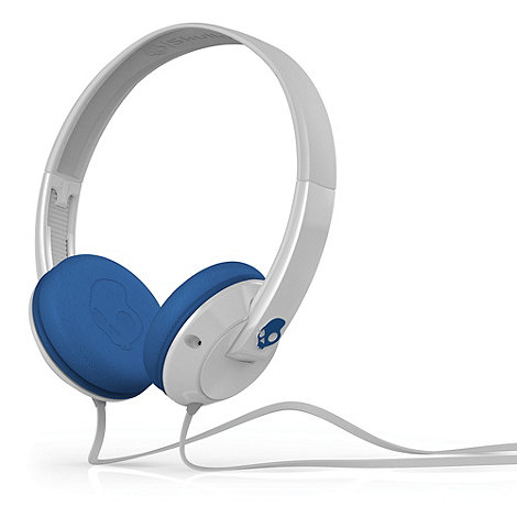 Skullcandy - White +Uprock 2.0+ on-ear headphones
