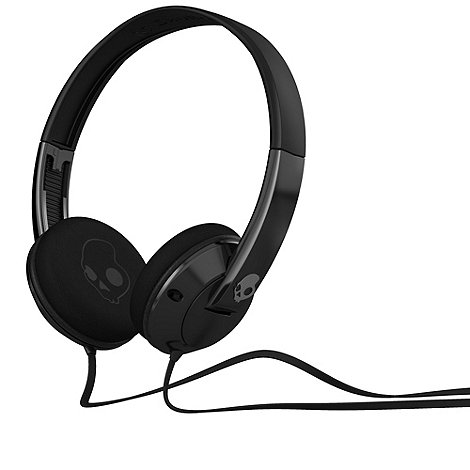 Skullcandy - Black +Uprock 2.0+ on-ear headphones