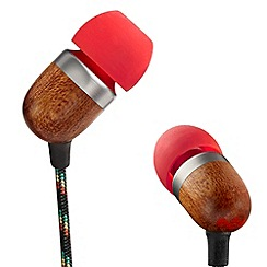 Marley - 'Smile Jamaica' 'Fire' headphones EM-JE040-FI
