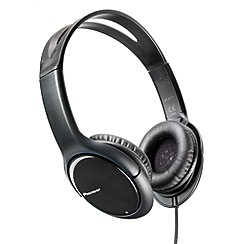 Pioneer - Black SE-MJ711-K 'Club Series' overhead headphones