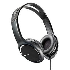 Pioneer - Black SE-MJ711-K 'Club Series' overhead headphones