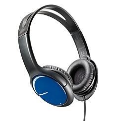 Pioneer - Blue SE-MJ711-L 'Club Series' overhead headphones