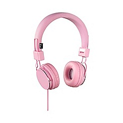 KitSound - Pink 'Malibu' on-ear headphones
