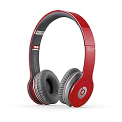 Beats - Solo over ear headphones in Red