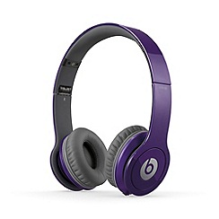 Beats - Solo over ear headphones in metallic blue