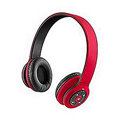 HMDX - Jam transit bluetooth headphones red hx-hp42ord-eu