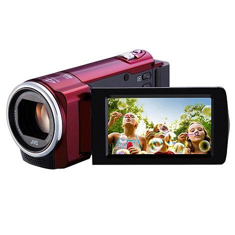 JVC - GZ-E15 red camcorder