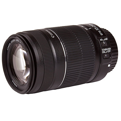 Canon - EF-S 55-250mm f/4.0-5.6 IS II lens