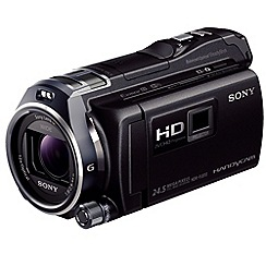 Sony - HDR-PJ810E Camcorder Black 1080p FHD, Projector MS/SD/SDHC/SDXC