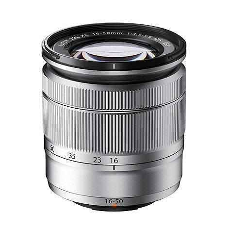 Fuji Film - Fuji XC-16-50mm f/3.5-5.6 OIS silver lens