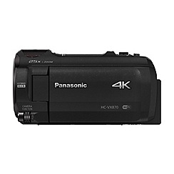 Panasonic - hc-vx870 4k hd camcorder in black