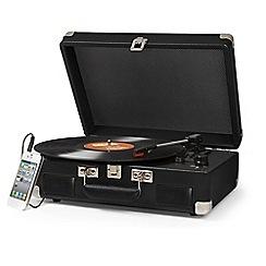 Crosley - Turntable cruiser three-speed portable record player CR8005C-BK