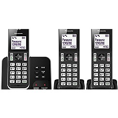 Panasonic - Trio handset digital cordless telephone answering system