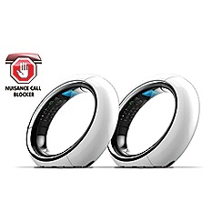 Idect - Eclipse Plus Twin white with call blocker