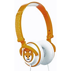 KitSound - Children's doodles volume limiting headphones