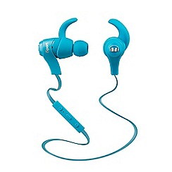 Monster - iSport Bluetooth wireless In-ear Headphone - Blue