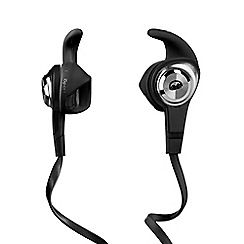 Monster - iSport Strive In-ear Headphone (Mic Only) - Black