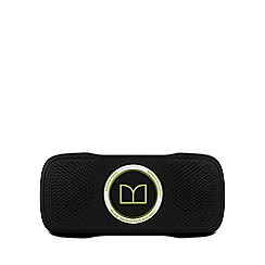 Monster - Superstar Back float Bluetooth speaker - Black with neon green